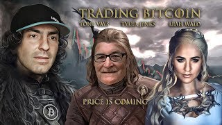 Trading Bitcoin w/ Tyler Jenks - Just Fell $250 to $3,800, Not Good