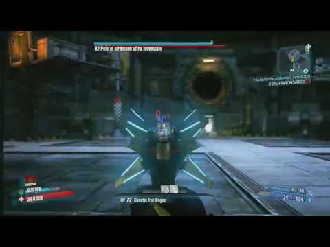 Borderlands 2 Zero Vs pete ultra invencible OP 8 equipo normal (ni legendarios ni únicos)