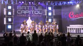 James Madison University Club Cheerleading Battle at the Capitol 2018 Day 2