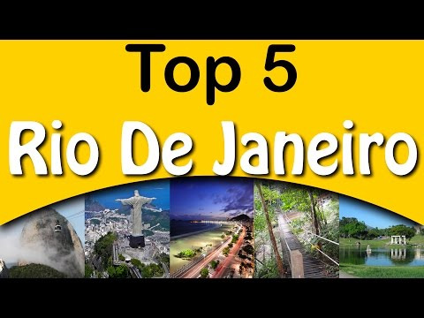 Top 5 Attractions #Rio De Janeiro