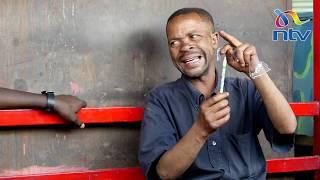 One on one with Nairobi's funny matatu hawker, Jackson King'ori