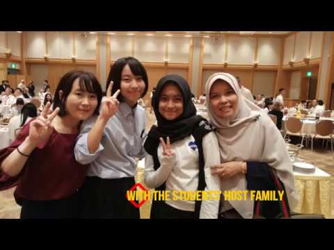 SMA Dwiwarna Bogor in the 20th Morioka Chuo International Forum 2018 in Japan