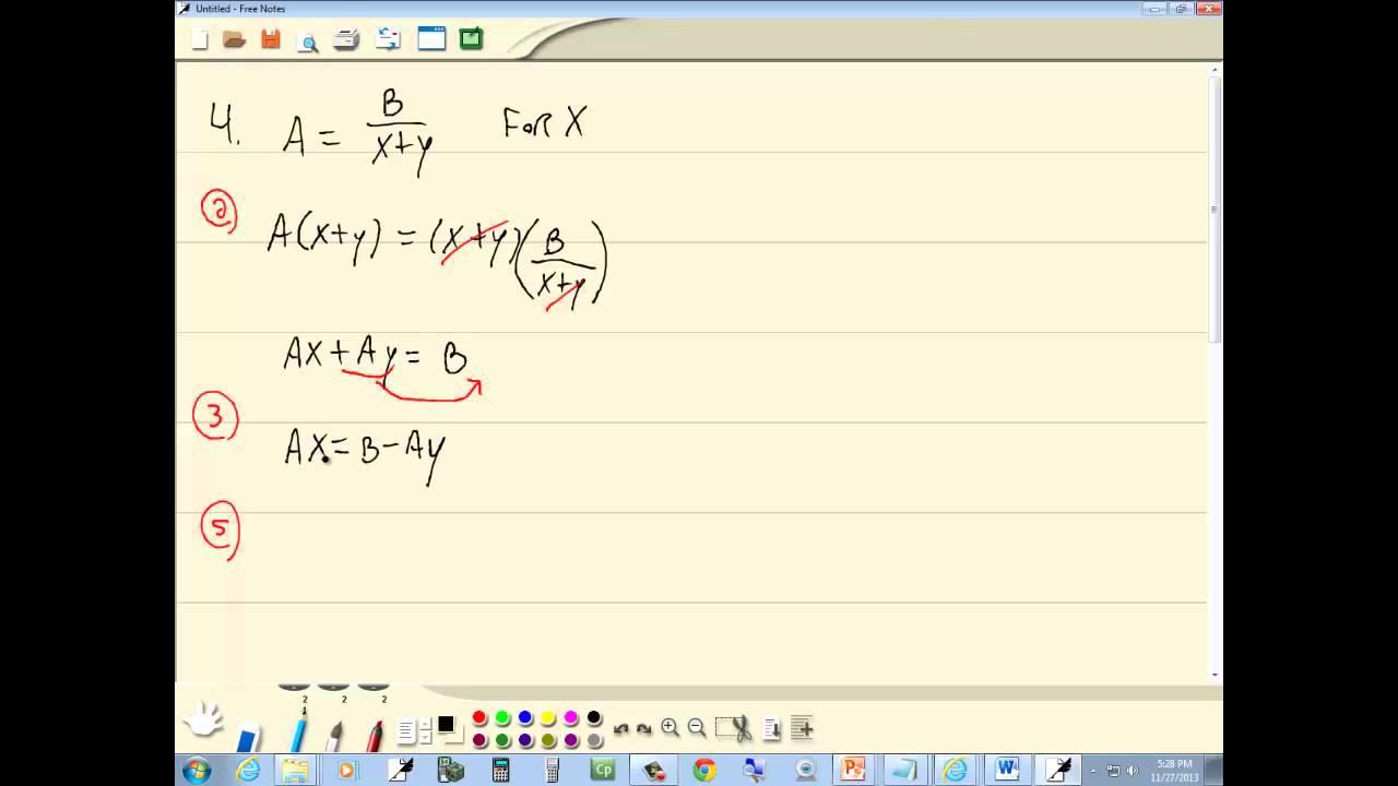 Algebra homework help simple equations