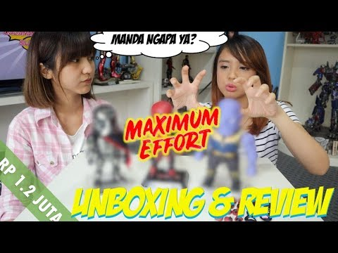 UNYU-UNYU tapi DETAIL | Unboxing & Review Beast Kingdom DEADPOOL Egg Attack Action Series!!