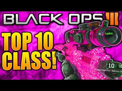 TOP 10 BEST CLASS SETUPS BLACK OPS 3! COD BLACK OPS 3 BEST CLASS SETUP COD BO3 BEST CLASSES NOW!!