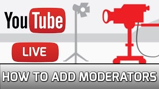 Add Moderators to YouTube Live Stream (How To Block/Unblock People)