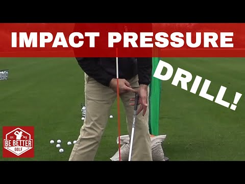 HOW TO KEEP YOUR LAG? Impact Pressure Drill Bertie's Favorite BE BETTER GOLF