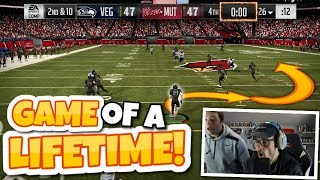 THIS IS THE SINGLE CRAZIEST GAME OF MADDEN THAT YOU