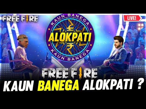 Kaun Bnega Alokpati | Dj Alok Giveaway Free Fire Live💎 - Garena Free Fire live