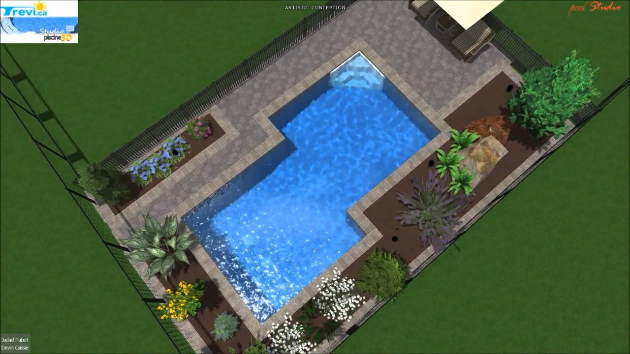 Trevi c tabet 2012 fuzion ardoise 12 39 x24 39 youtube for Piscine trevi
