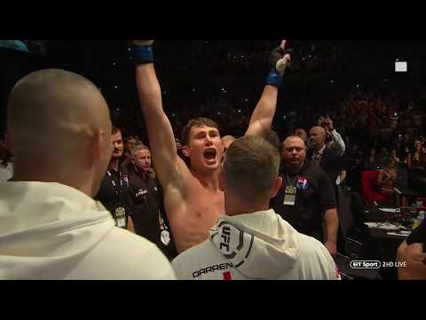Incredible atmosphere! Darren Till walks out to Sweet Caroline at UFC Liverpool