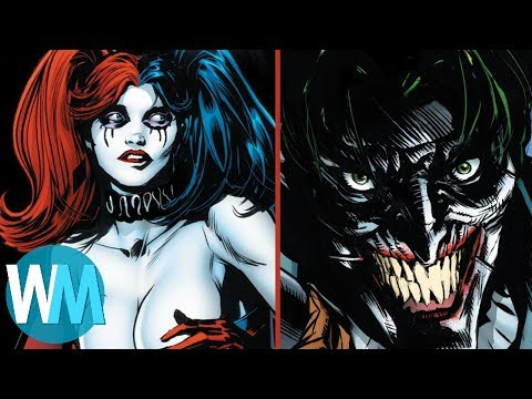 Top 10 Worst Things That Happened to Harley Quinn