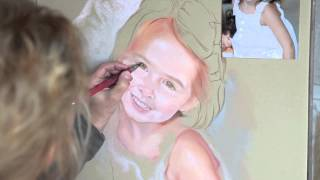 Pastel Portrait process