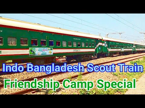 Indo Bangladesh Scout Train,  Indo Bangladesh Friendship Camp Train & Chetona Ticket Checking Train