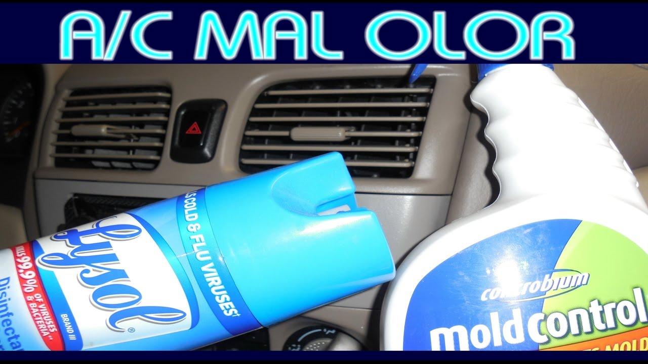 Tips para eliminar el mal olor en el aire acondicionado for Mal olor aire acondicionado
