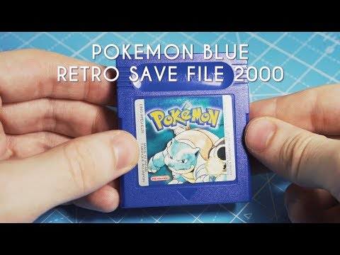 20 Year Old Save File! Pokemon Blue
