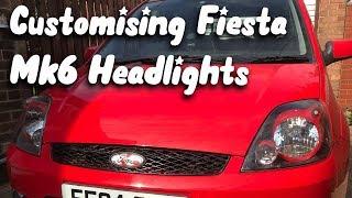 Customising My Fiesta Mk6 HeadLights