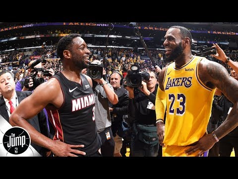LeBron James and Dwyane Wade brought out the best in each other - Rachel Nichols | The Jump