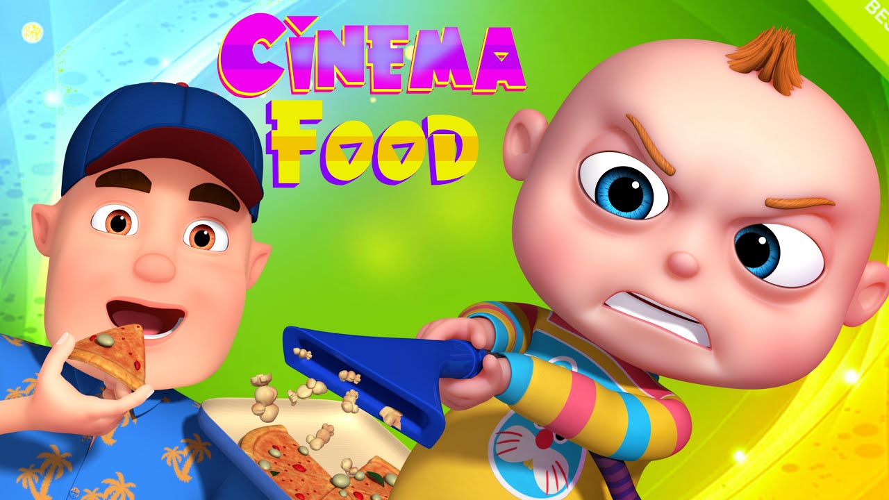 Tootoo Boy Cinema Food Animated Cartoons For Children Funny Animated Short Films For Kids Youtube