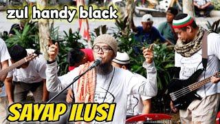 Sayap Ilusi||Zul Handy Black Bawak Lagu Sayap ilusi Dah hampir sma Macam Vocal Awie Wings