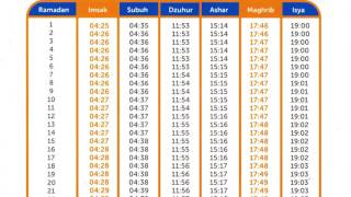 Download Video Jadwal Puasa Ramadhan 2017 - Jadwal Imsakiyah Bulan Suci Ramadhan 1438 H MP3 3GP MP4