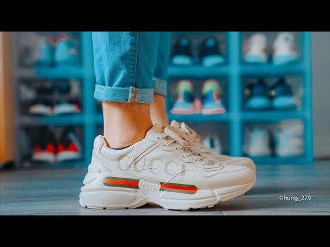 Đập Hộp + Đánh Giá + On Feet đôi Gucci