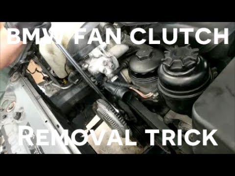 E36 Fan Clutch Removal Without Tool | Sante Blog