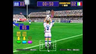 Goal Festival - Greece vs Italy - Virtua Striker 2 '97