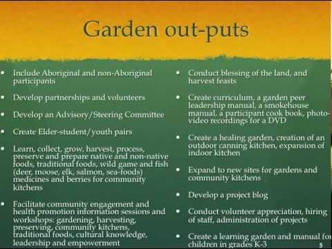 Urban Aboriginal Community Kitchen Gardens Project\