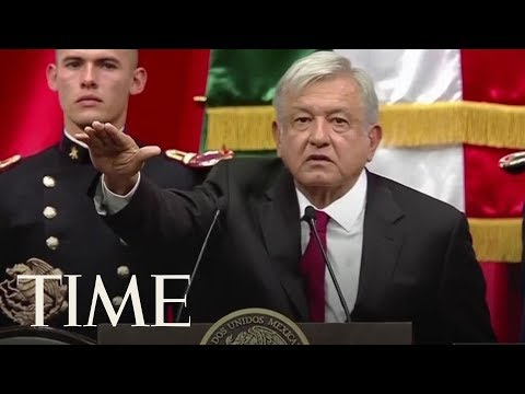 Mexico's First Leftist President In Over 70 Years Is Sworn Into Office | TIME
