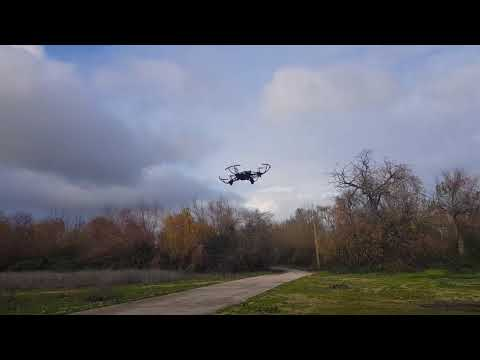PARROT MAMBO FPV flying out test