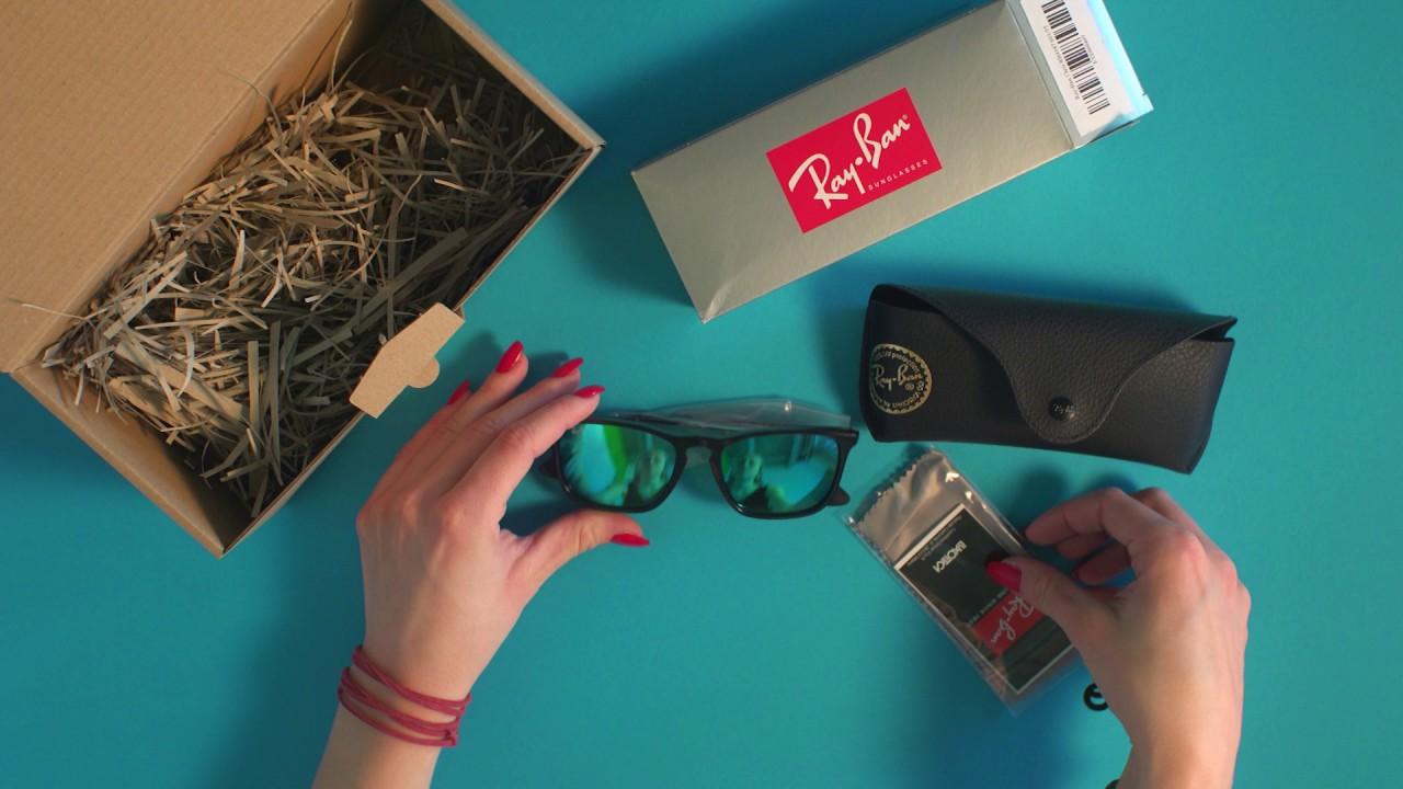 600d6f81a0 eyerim presents  Unboxing of Ray-Ban CHRIS RB4187 601 55 sunglasses ...