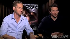 "Bradley Cooper & Words Director Brian Klugman Were ""Dorks"" - Celebrity Interview"