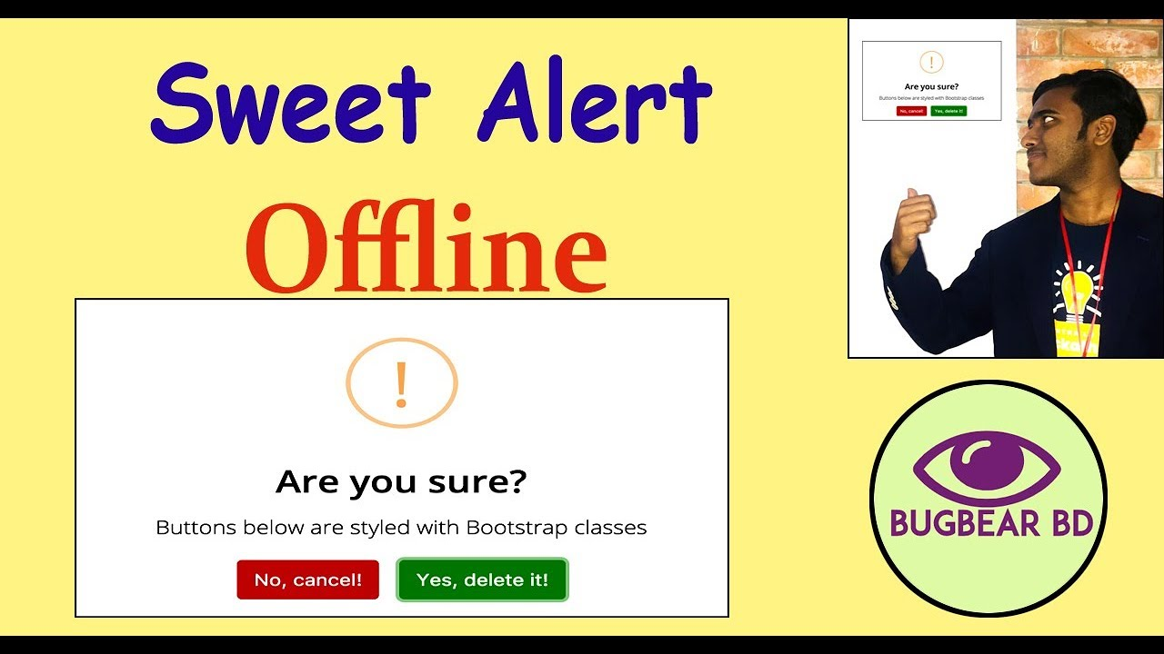 How To Use Sweet Alert Offline - Travel Online