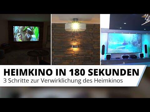 Heimkino Einsteig mit 3 einfachen Schritten - Alle Tipps zum Einrichten in 180 Sekunden