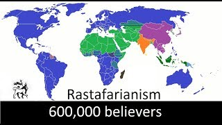 The Biggest Religions In The World - Religions With More Than 500.000 Believers