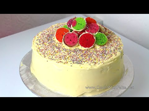 polka-dot-cake-*cook-with-faiza*