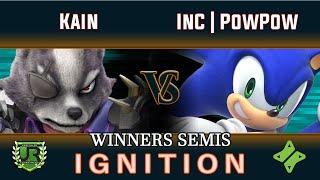 Ignition #162 WINNERS SEMIS - Kain (Wolf) vs InC | PowPow (Sonic)
