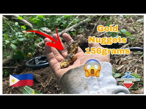 We Found The Deposit Of Gold Nuggets In The Philippines   Metal Detecting   Pinoy Prospecting