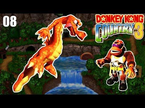 INICIANDO O ULTIMO MUNDO COM A MAYARA - Donkey Kong Country 3 SNES - PARTE 8