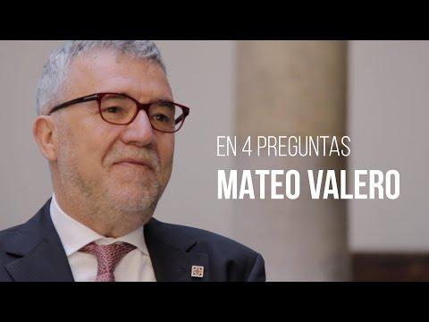 En cuatro preguntas: Mateo Valero Cortés