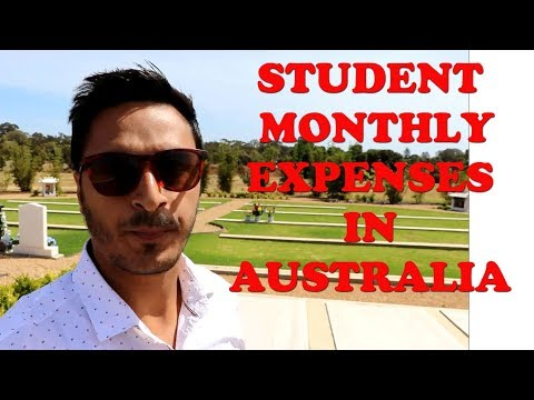 STUDENT EXPENSES IN AUSTRALIA || REAL INFORMATION