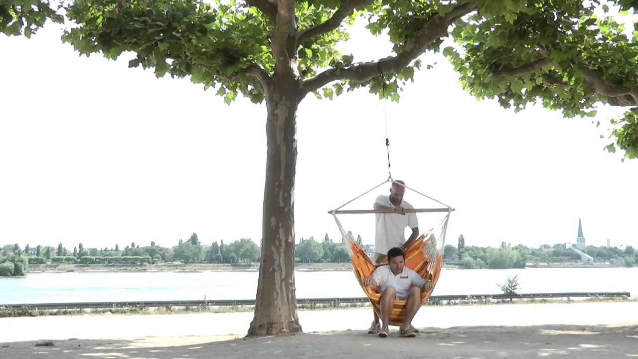 Comment Fixer Une Balançoire À Une Branche D Arbre tree rope la siesta pour chaise hamac