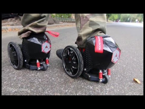 wheelchair jumia folding chair velvet leave your bike at home with these electric roller skates youtube