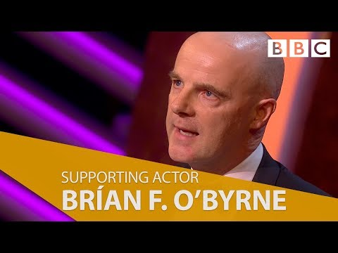 Brían F. O'Byrne wins Best Supporting Actor  The British Academy Television Awards 2018  BBC One