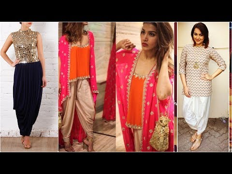 best indo western dhoti style dresses for girls 2017 \ Fashion Alert of 2017