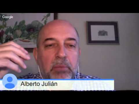 Alberto Julián talks of studying MOOCs from a worker's perspective