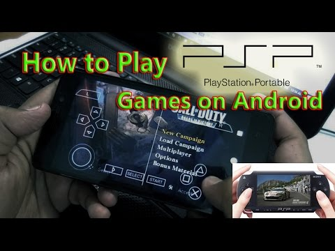 How To Play PSP Games On Android