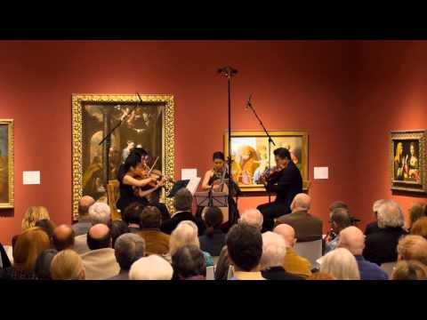 FORMOSA QUARTET | Dana Wilson 'Hungarian Folk Songs' - YouTube