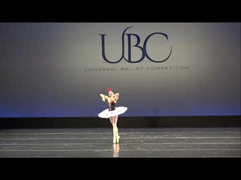 Harlequinade by tiziana monaco universal ballet competiton  2019